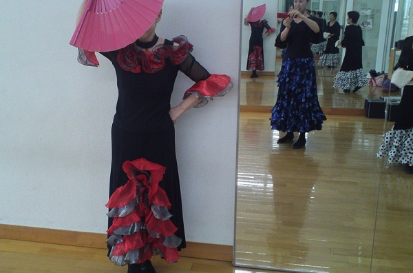flamenco lesson